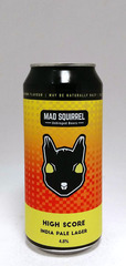 Mad Squirrel High Score India Pale Lager