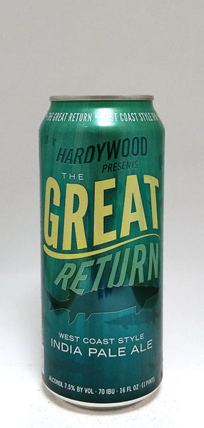 Hardywood The Great Return West Coast IPA