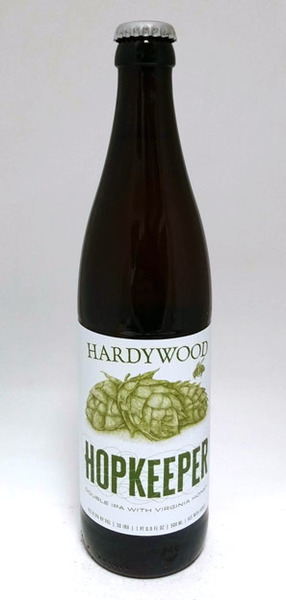 Hardywood Hopkeeper Double IPA with Honey