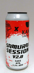 By The Horns Samurai Session Sake Pale Ale V2.0