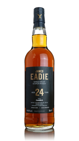 James Eadie Cambus 24 Year Old 1993 Single Grain Whisky